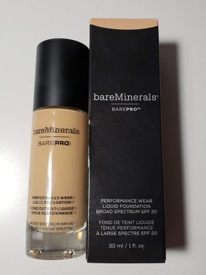 bareMinerals BarePro Sandstone 16 Performance Wear Liquid Foundation USED.jpg