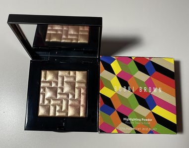 Bobbi Brown Golden Rose Glow Highlighting Powder USED.jpg