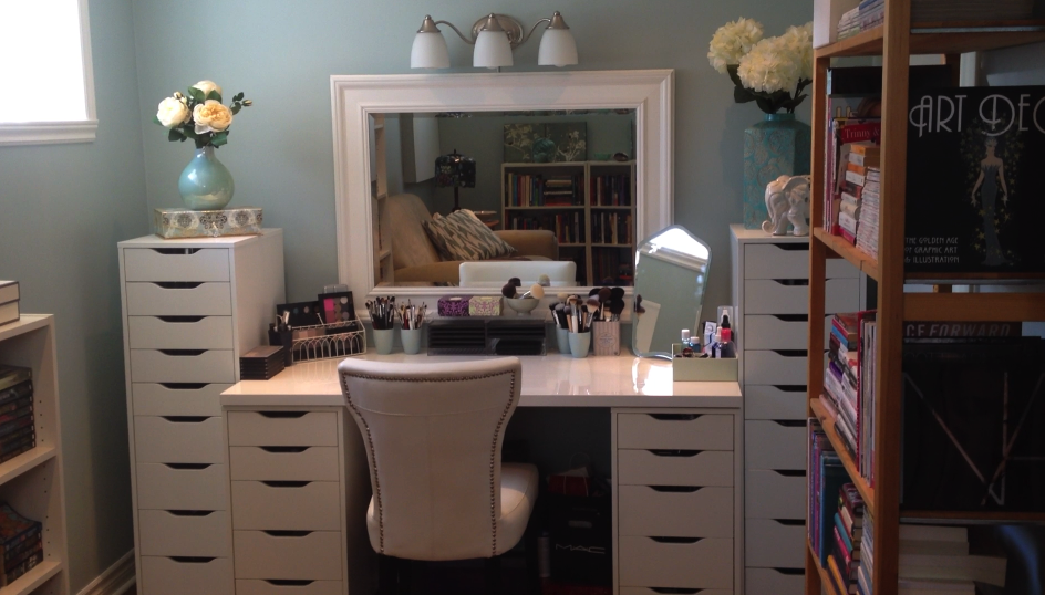 Attirant Vanity And Storage Solution (updated 13/07/12, With Video Tour And Pic  Heavy)