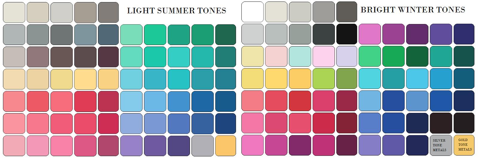 Color seasons nvjuhfo Choice Image
