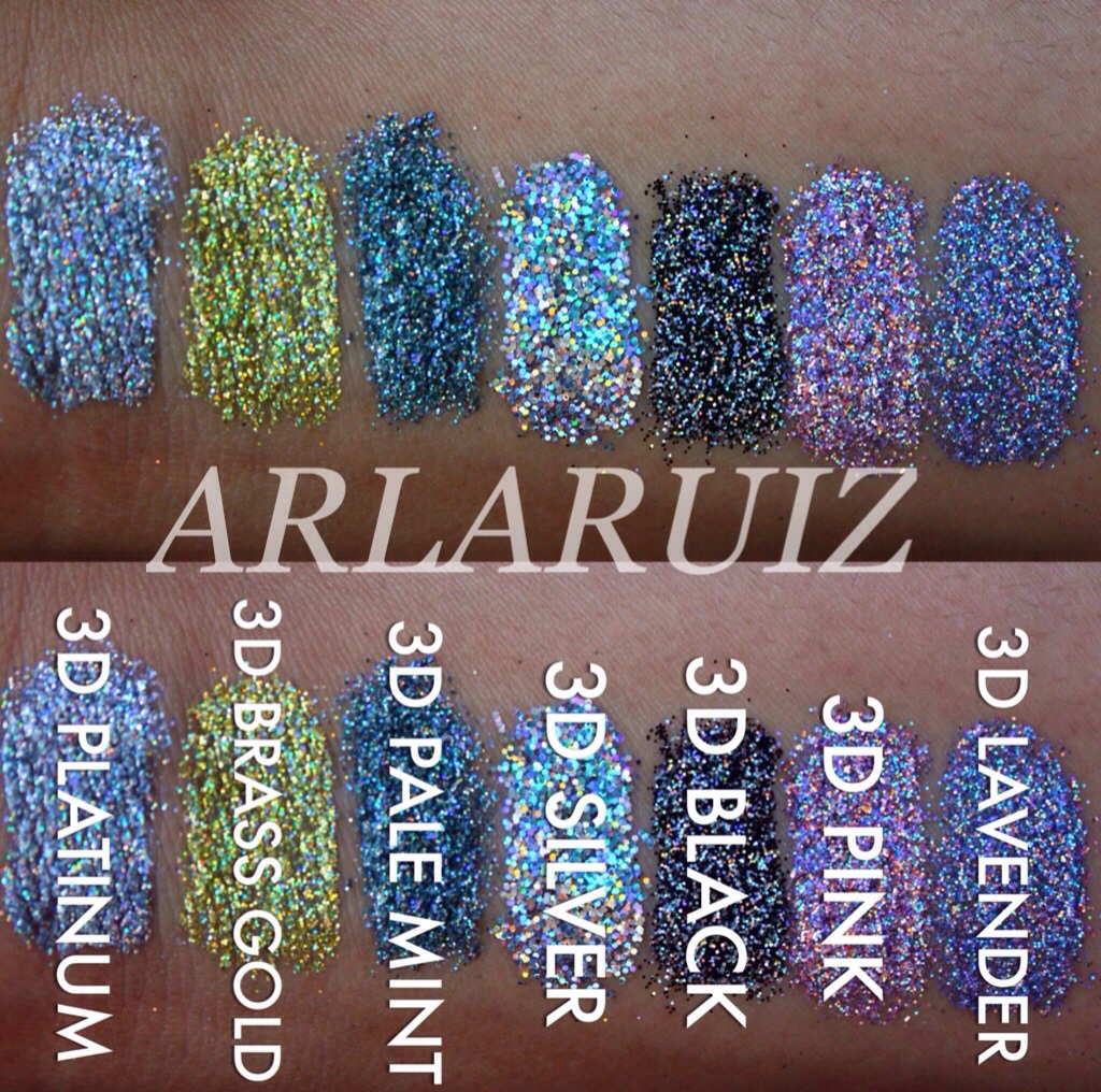 MAC 3D Glitter Collection - (April 10, 2014) (Updated: May 15, 2014)
