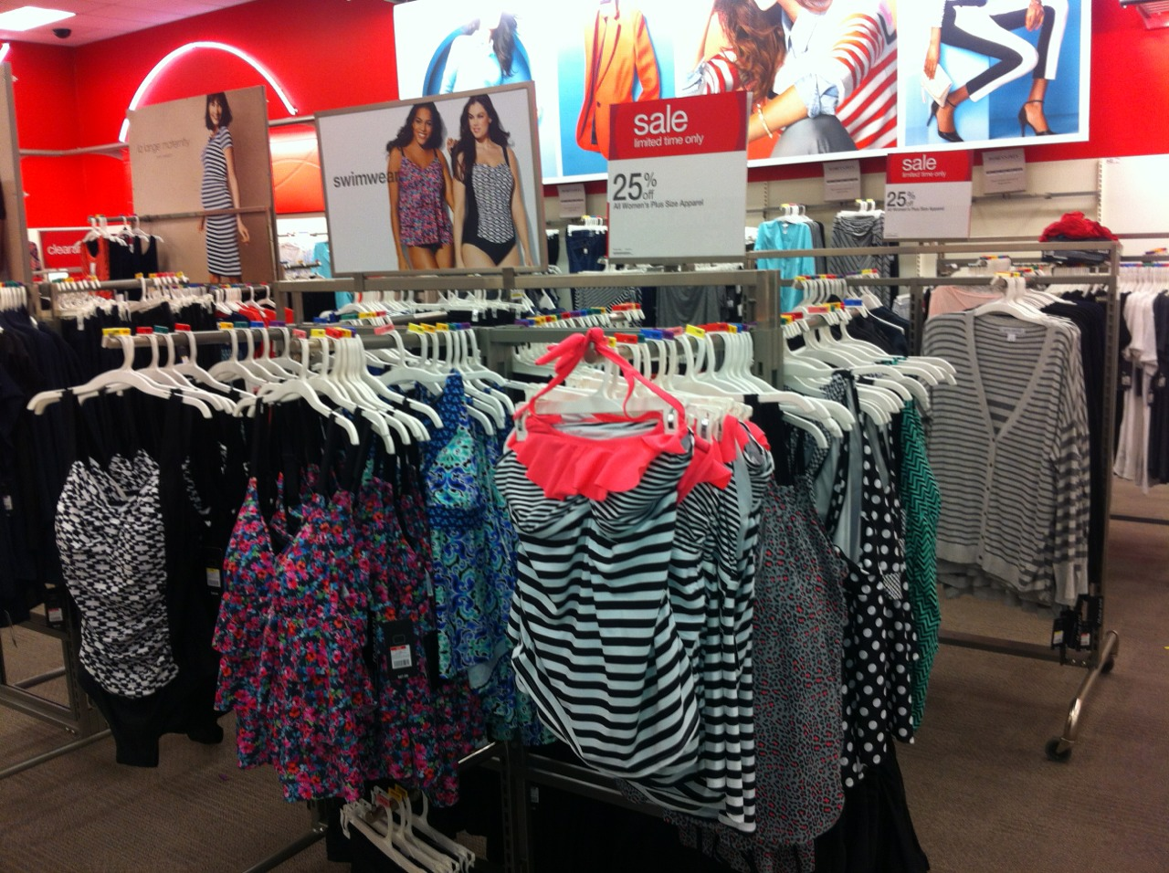 0415d6b479a Target got the revamped Pure Energy line in. It s alright. The swimsuits  were hit and miss. A few suits are missing the youthful element.